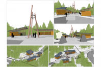 Hunter North Base Area, Options 1-2